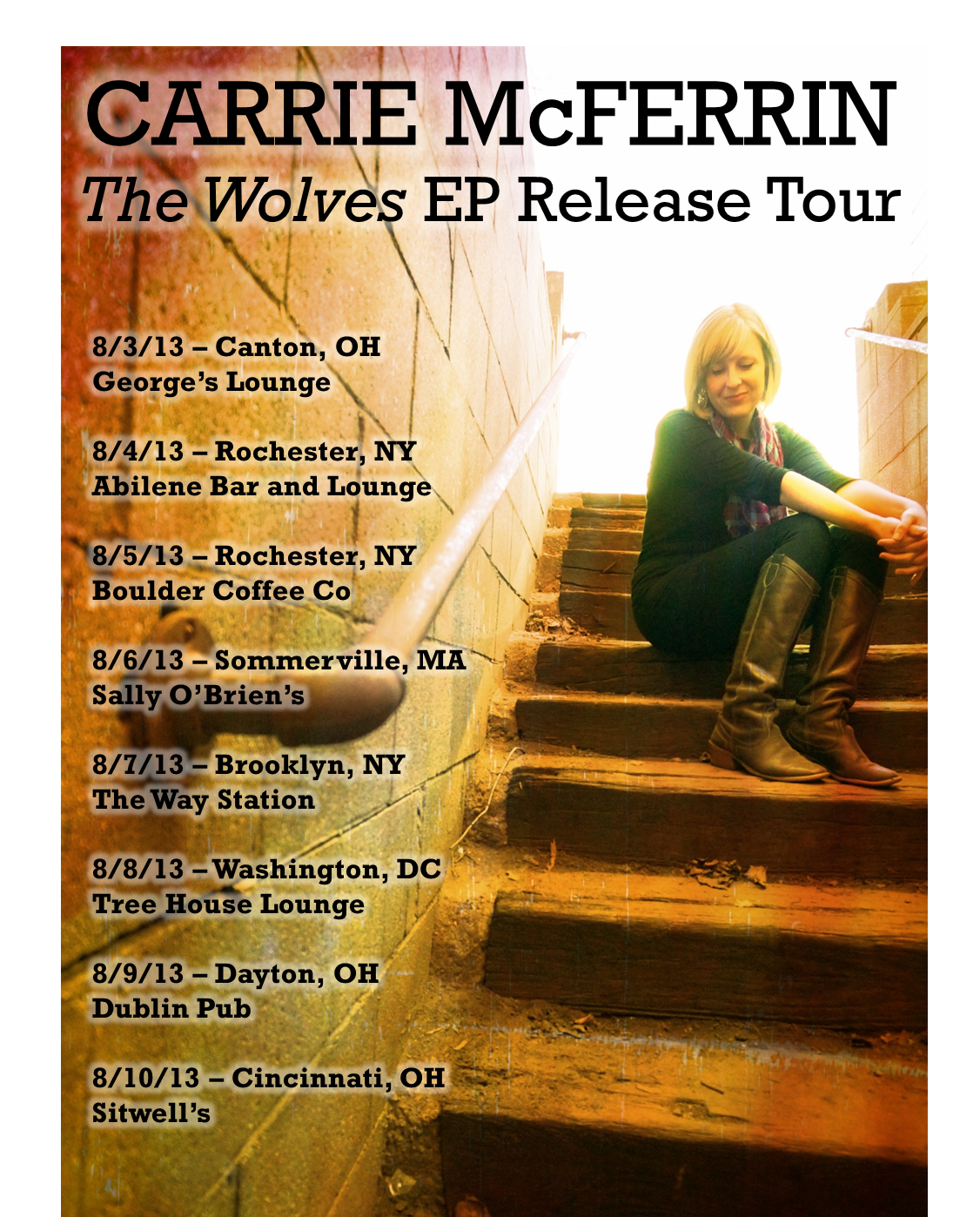 The Wolves EP Release Tour (8/3-8/10)
