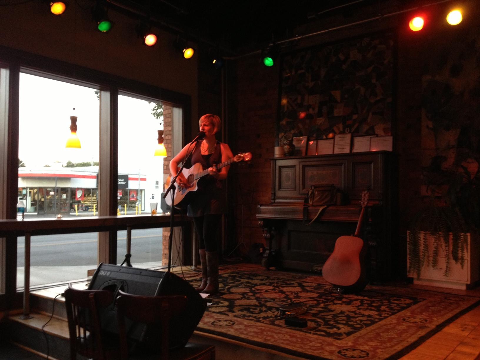 TOUR DIARY: MON 8/5 @ BOULDER COFFEE CO (Rochester, NY)